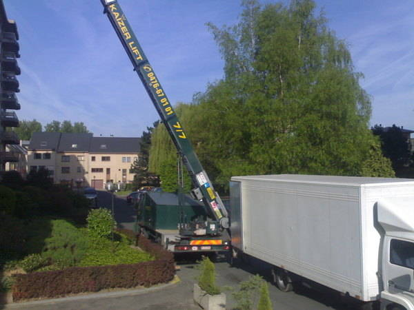 Lift elevateur pour demenagement location l annoncextra - Monte meuble occasion belgique ...